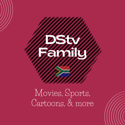 The DStv Family package entertainment features and add-ons