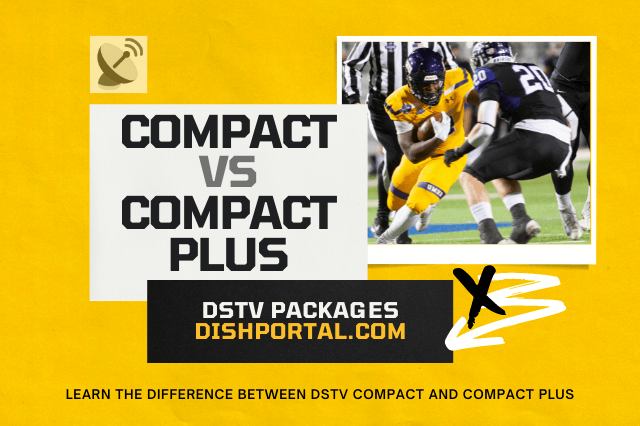 Difference between DStv Compact and Compact Plus